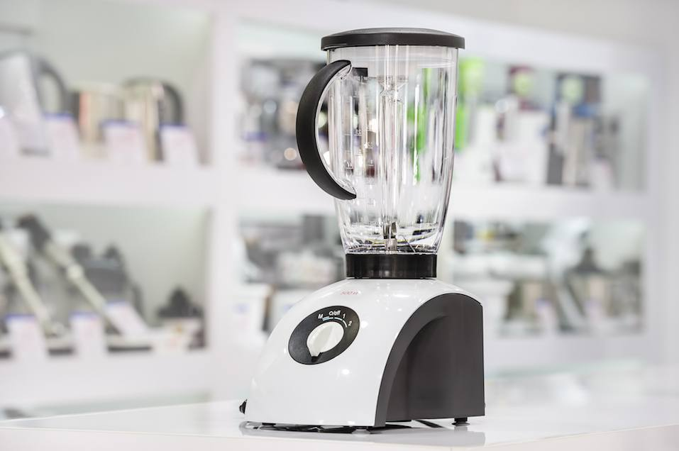Single electric blender