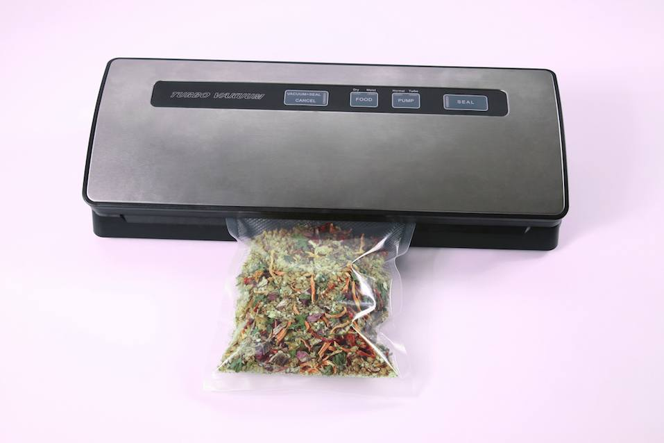 the vacuum sealer