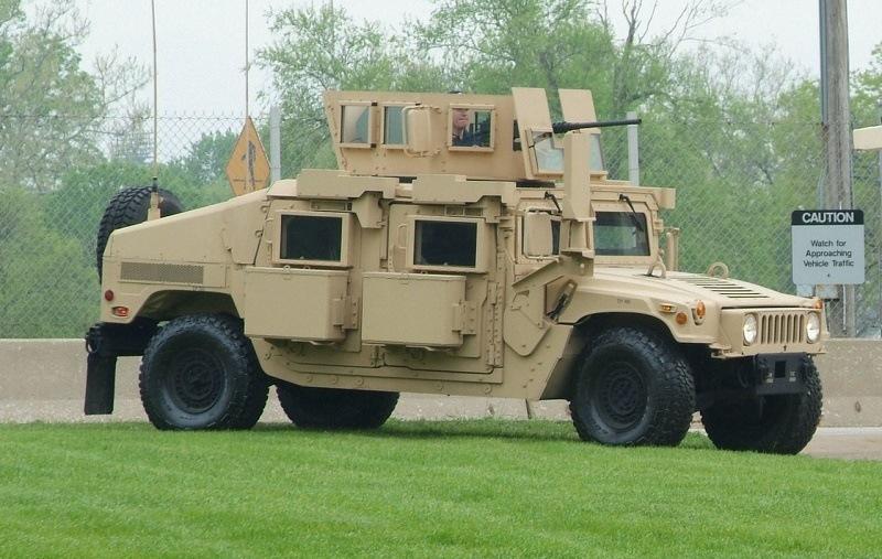 US Army HMMWV