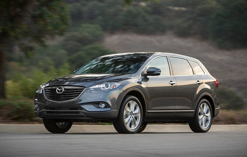 Profile of 2014 Mazda CX-9