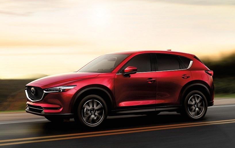 Mazda CX-5 Crossover in soul red crystal