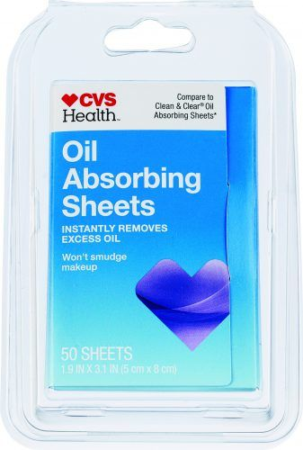 CVS Health Oil Absorbing Sheets