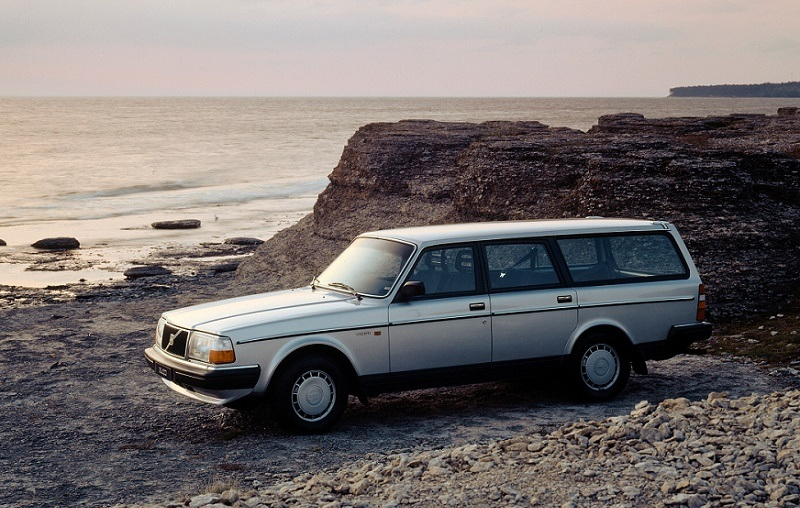 Volvo 245 GL, which ran from mid-1970s until 1983