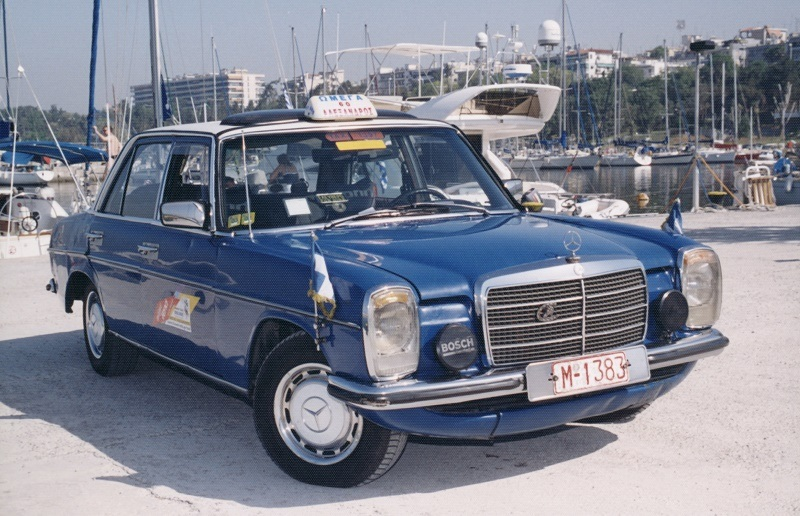 Photo of 1976 Mercedes 240F that reached 2.8 million miles