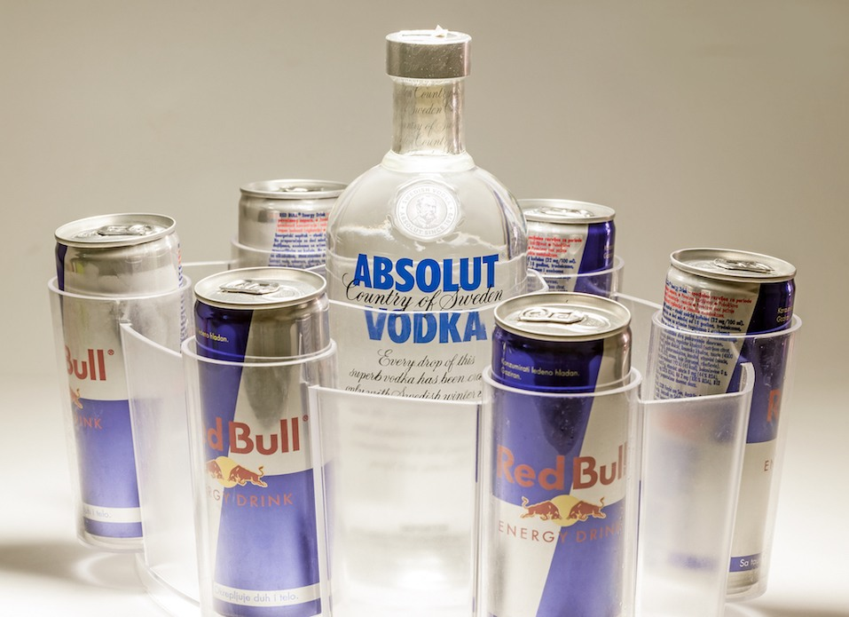 Absolut Vodka and Red Bull