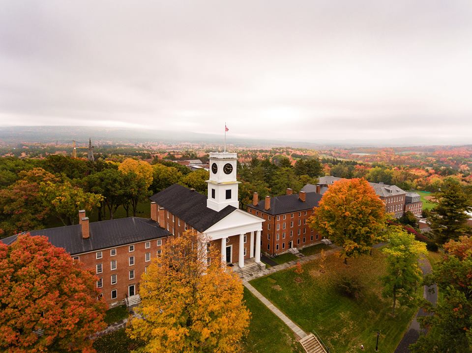 Amherst College is one of the small college churning out well-paid graduates.
