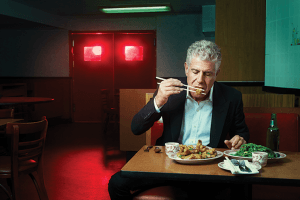 How Anthony Bourdain Became a Role Model for Men in the #MeToo Movement