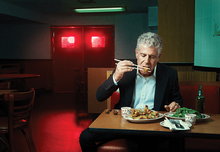 Anthony Bourdain via Facebook