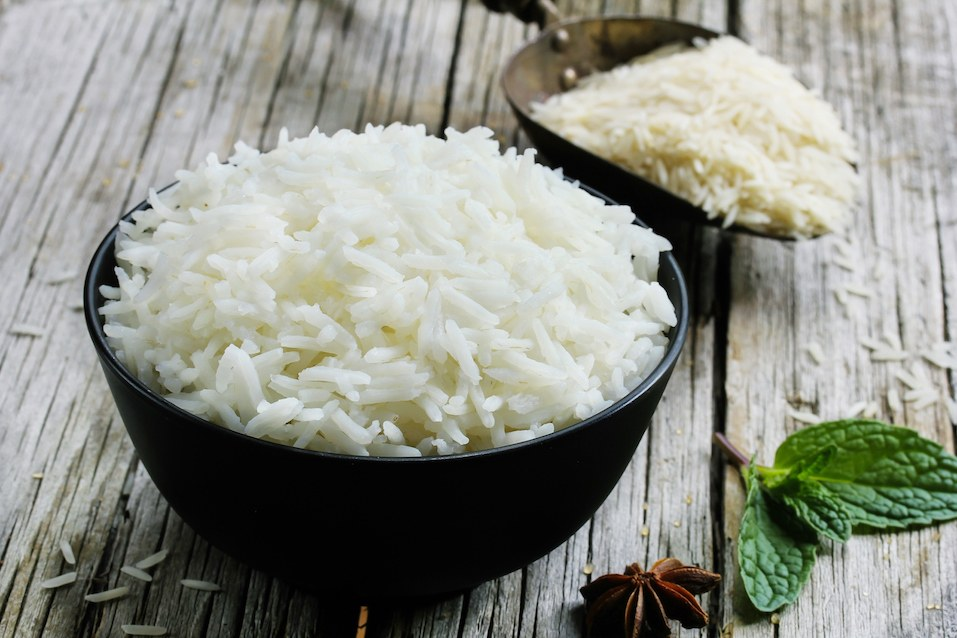 Basmati rice cooke