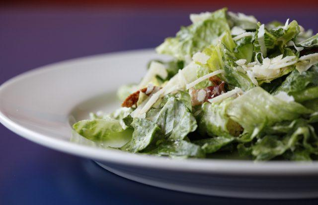 Choose salad and soup for a lighter take on lunch.