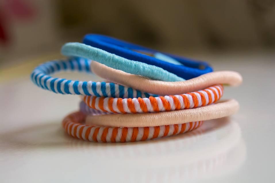 Colorful scrunchy