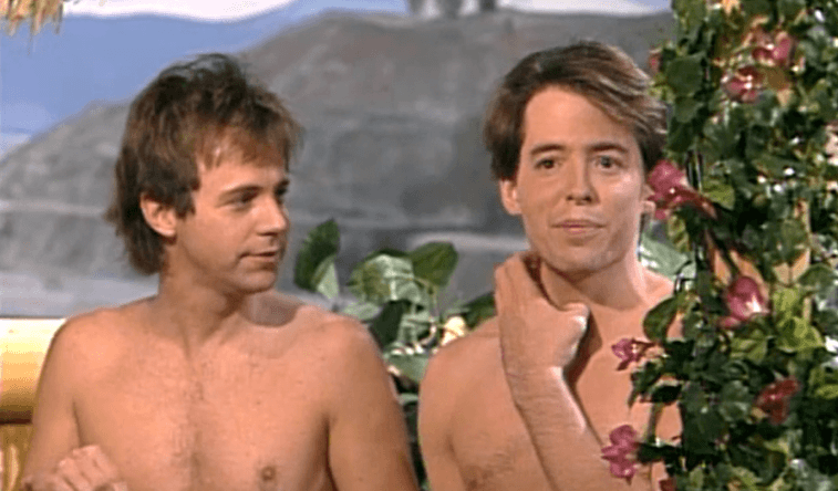 Dana Carvey and Matthew Broderick