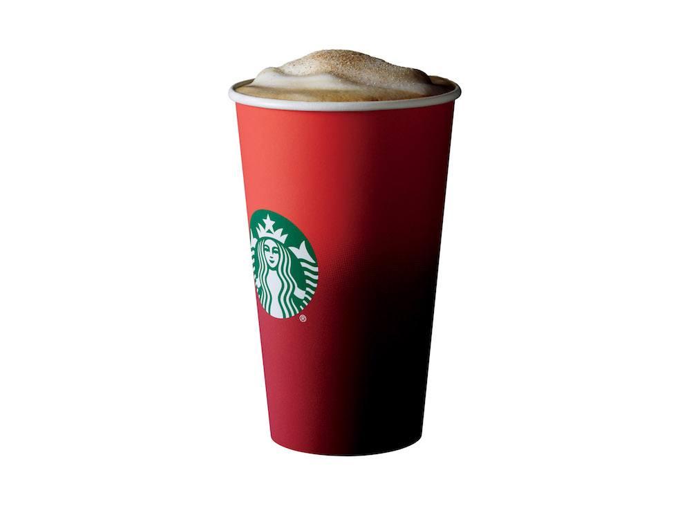 The eggnog latte