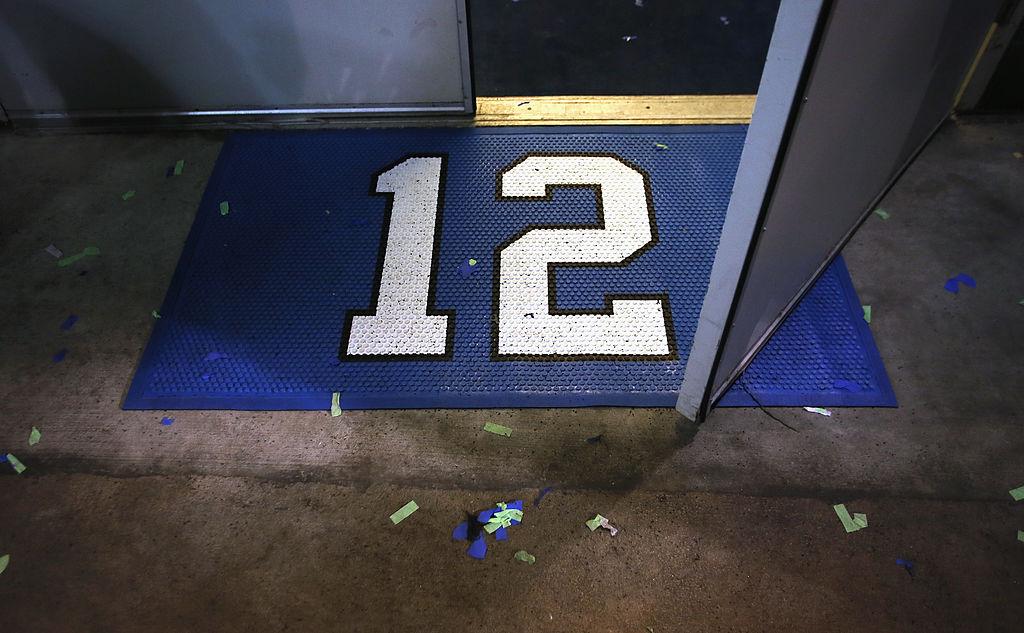 """A """"12th man"""" doormat"""