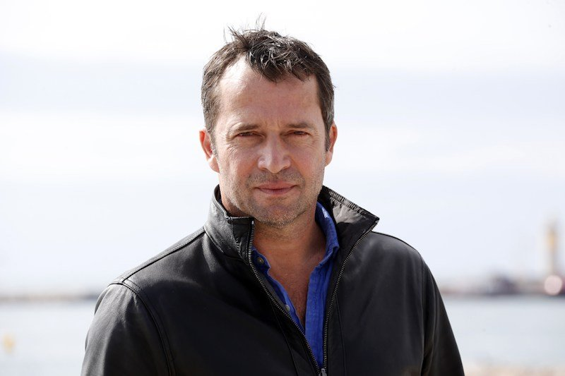 """James Purefoy poses during a photocall for the TV series """"Hap and Leonard"""""""