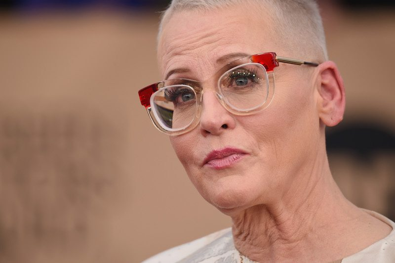 Lori Petty looks straight into the camera while attending The 23rd Annual Screen Actors Guild Awards