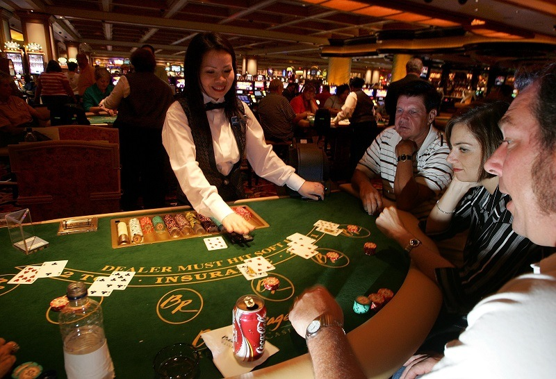 Playing Blackjack in Mississippi