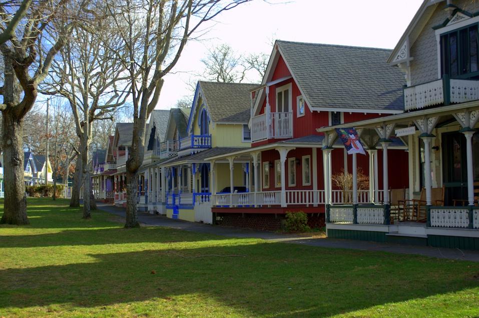 Gingerbread Houses, Martha's Vineyard, Methodist Summer Camp Meeting Houses