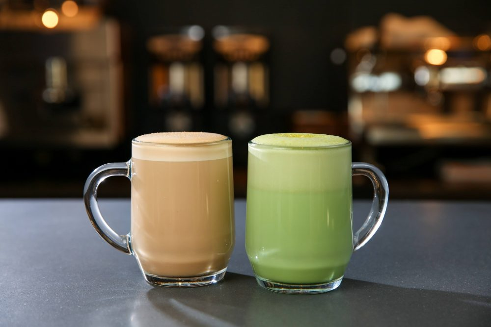 The matcha tea latte