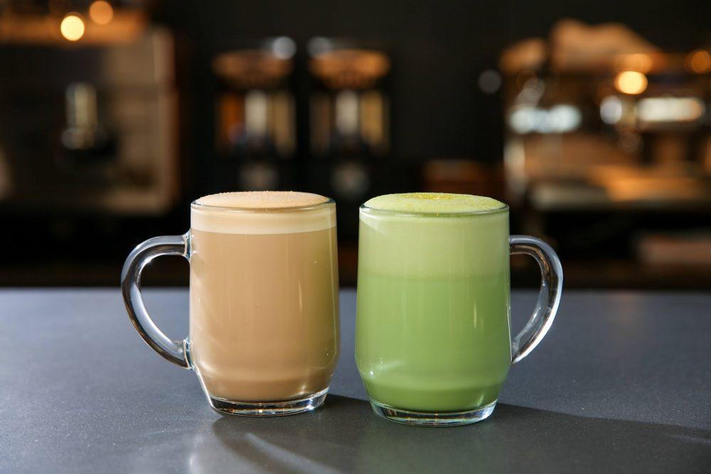 The matcha tea latte
