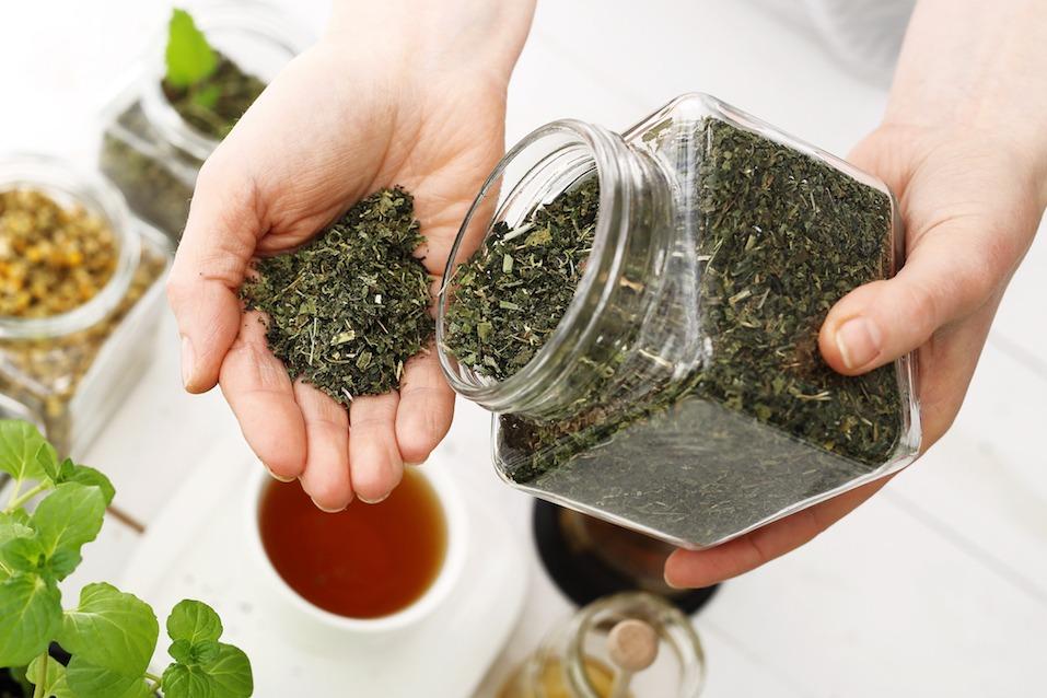 natural blend of herbs