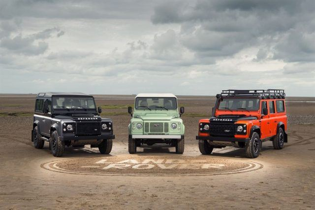 2016 Land Rover Defender Final Editions