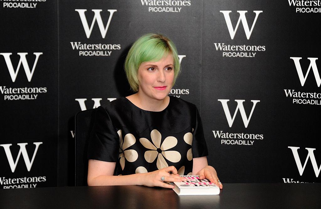 Lena Dunham - Book Signing