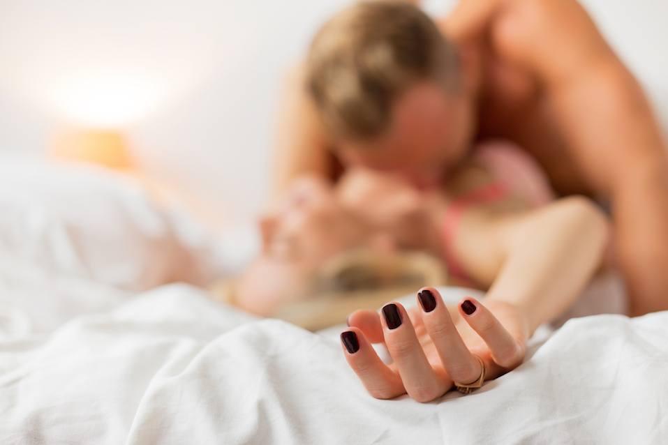 Man and woman having sex