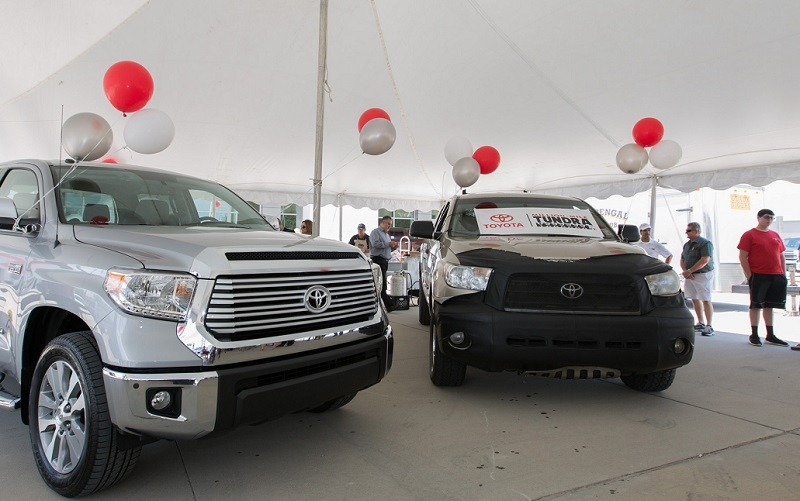 On May 11th 2016 Victor Sheppard was presented with a 2016 Tundra Limited in exchange for his Million-Mile 2007 Tundra during a ceremony at Greg LeBlanc Toyota in Houma, Louisiana.