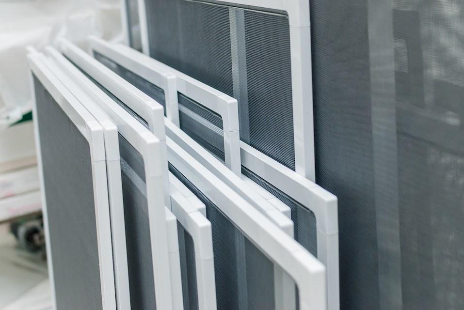 Set of Mosquito Nets Frames, fiberglass window screen mesh