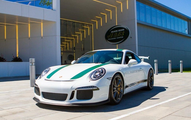 Jets-themed Porsche 911 GT3