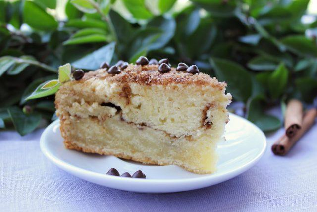 Coffee cake has just as much sugar as regular cake.