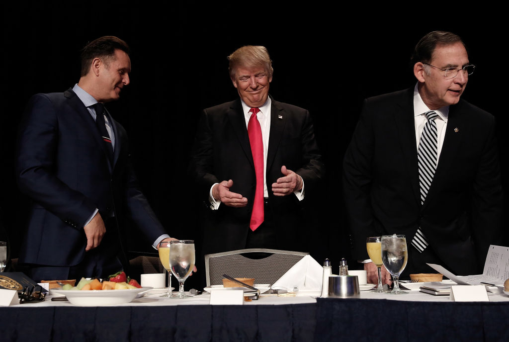 Donald Trump at National Prayer Breakfast