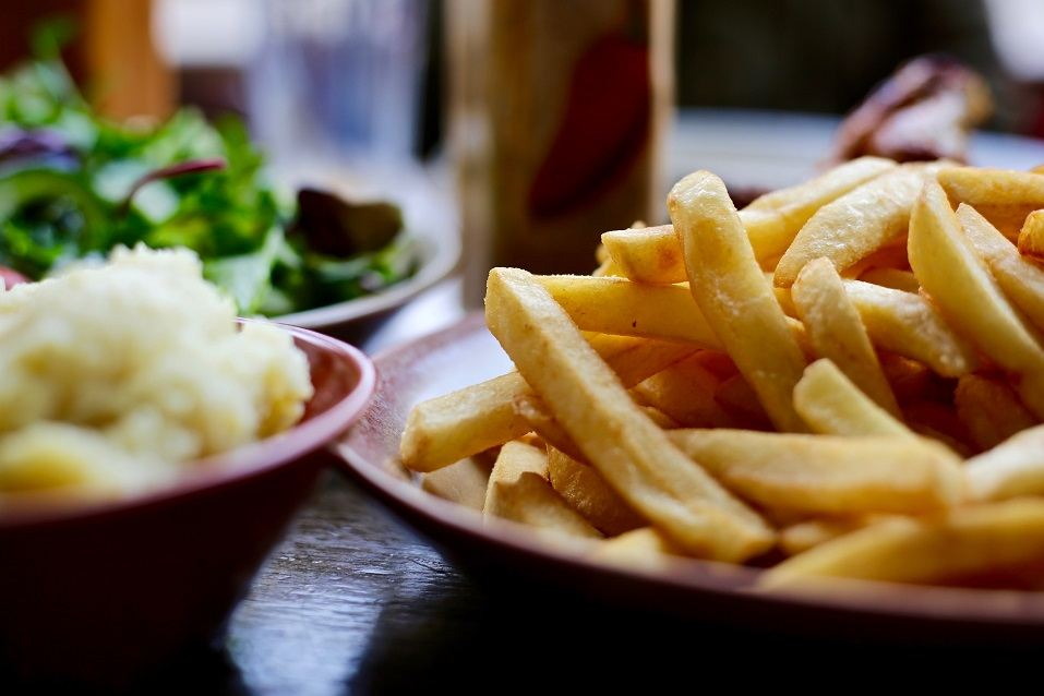 Well cooked Fries