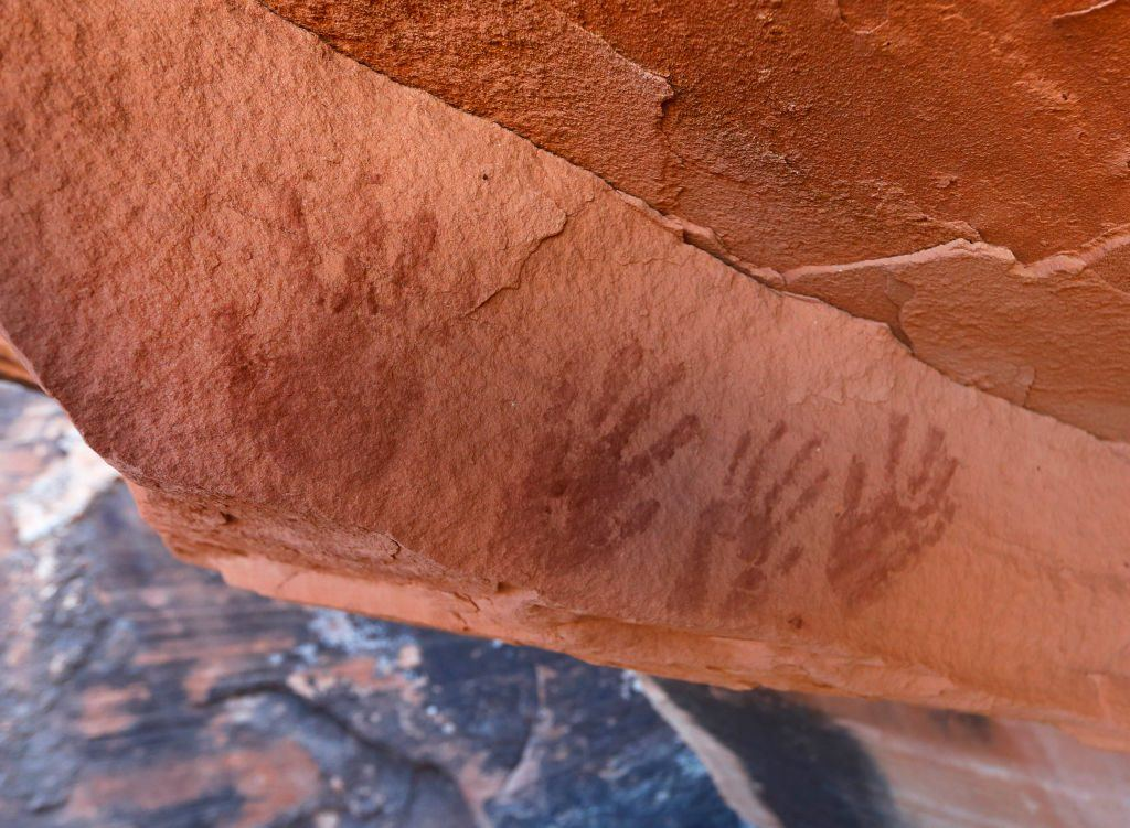 Bears Ears handprints