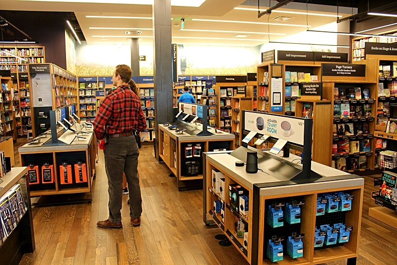 Amazon Books interior