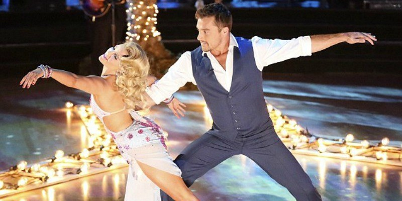 Chris Soules is dancing on Dancing with the Stars.