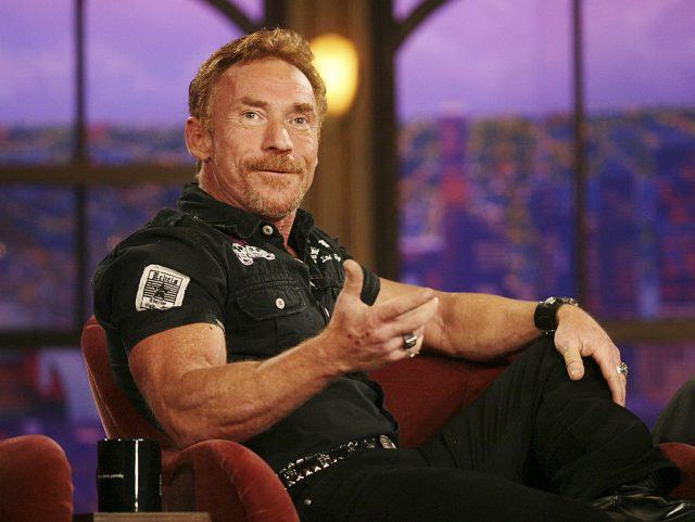 """Actor Danny Bonaduce speaks during a segment of """"The Late Late Show with Craig Ferguson""""."""
