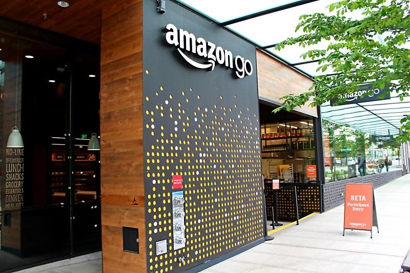 Amazon Go store exterior