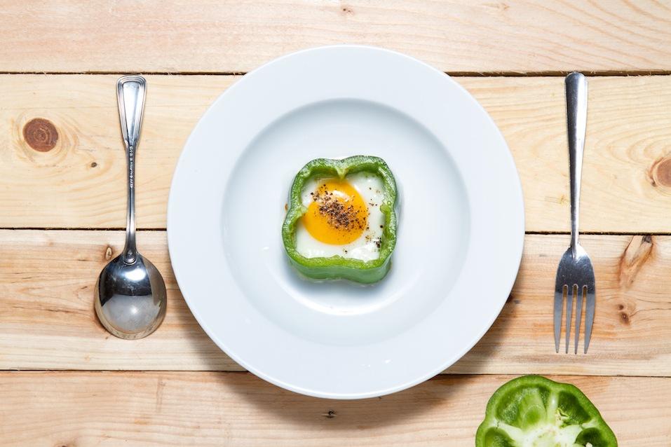 egg in pepper