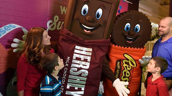 A Hershey's Chocolate World tour