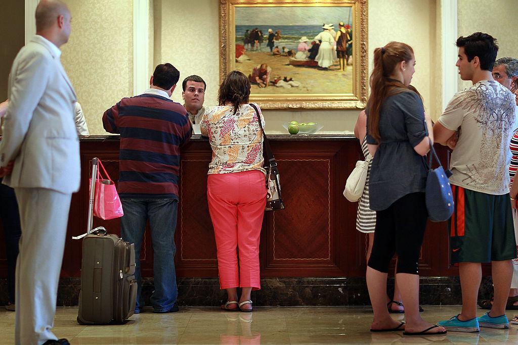 hotel check-in