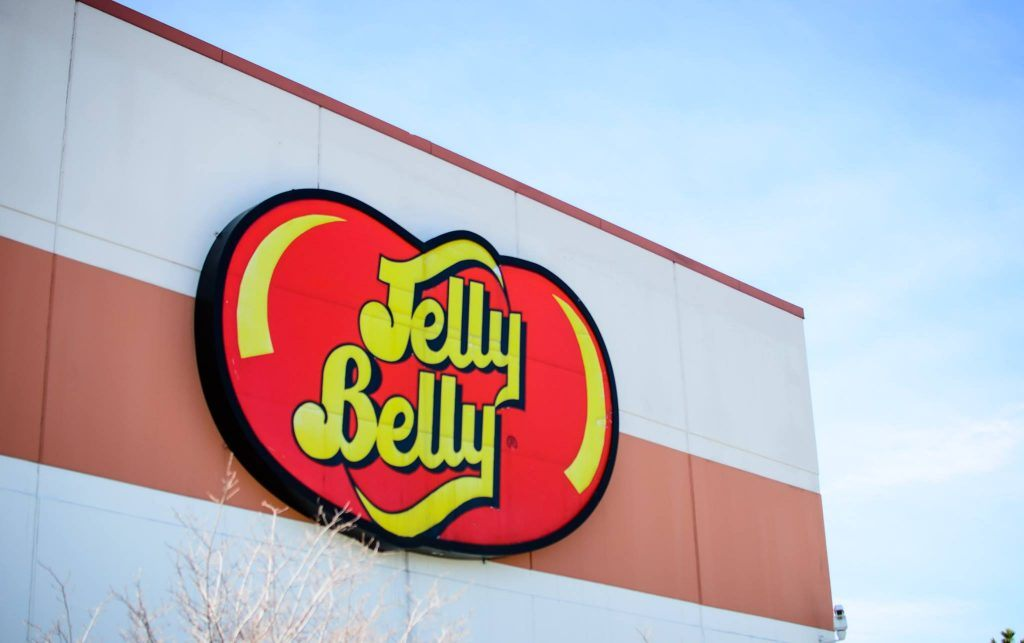 Jelly Belly sign