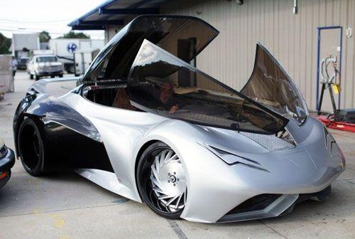 Custom Corvette made for John Cena