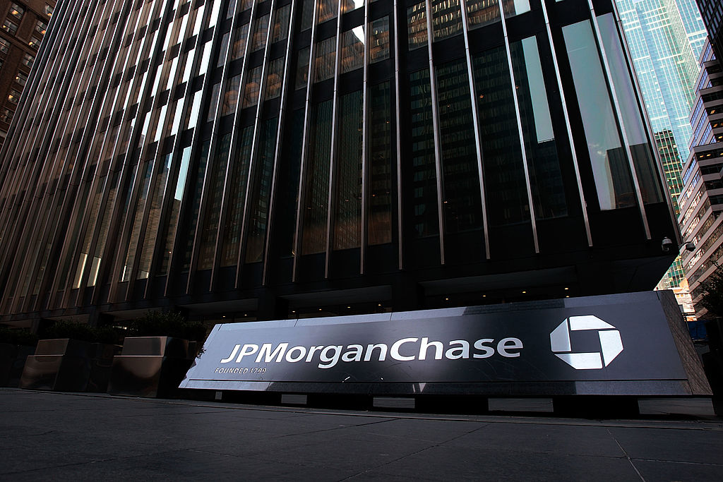 The JP Morgan Chase building.