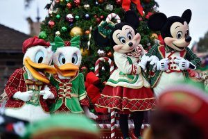 You'll Never Believe How Quickly Disney Transforms Its Parks for Christmas