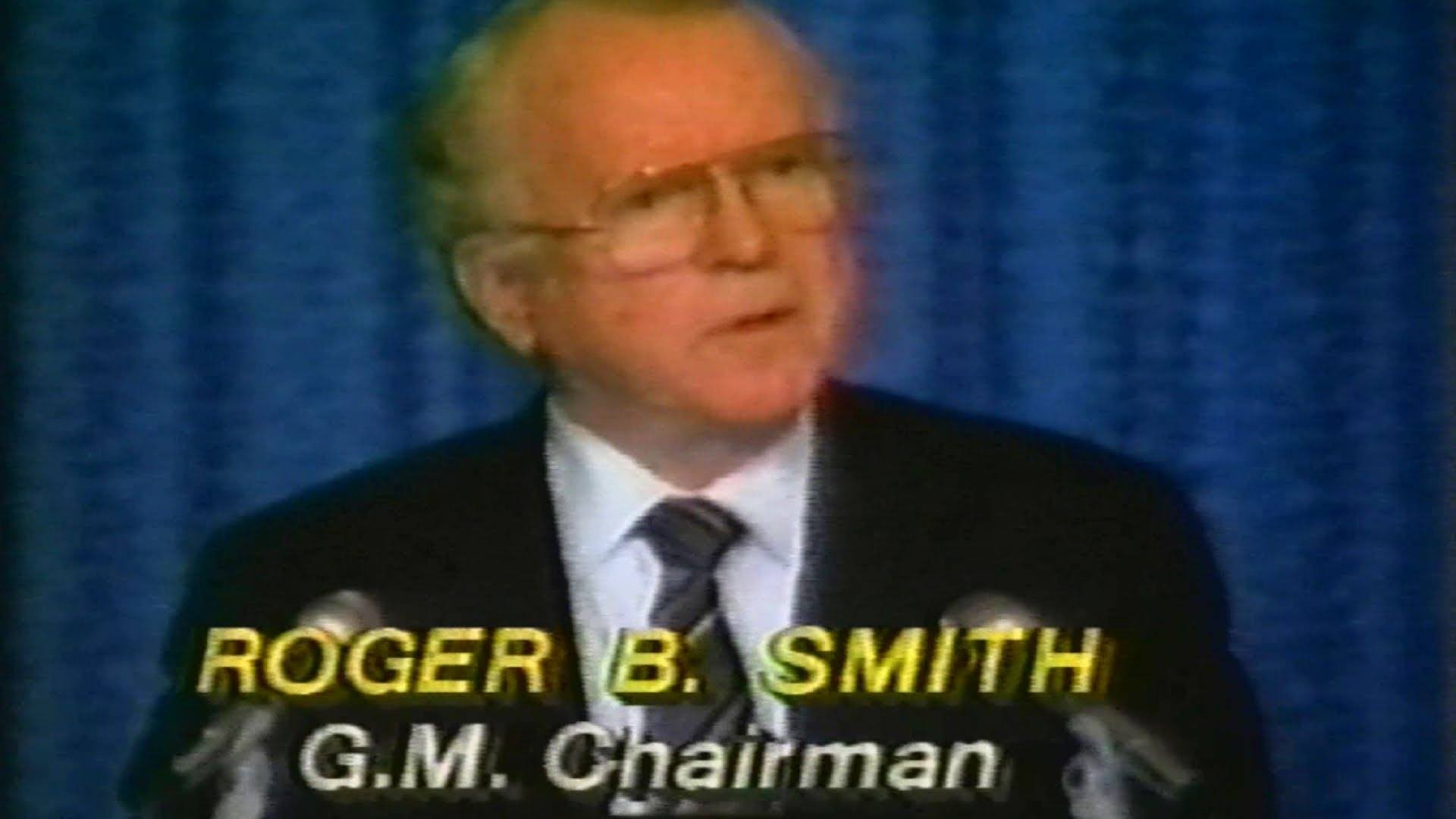 Former GM CEO Roger Smith