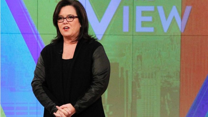 Rosie O'Donnell on The View