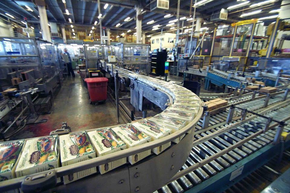 Celestial Seasonings factory