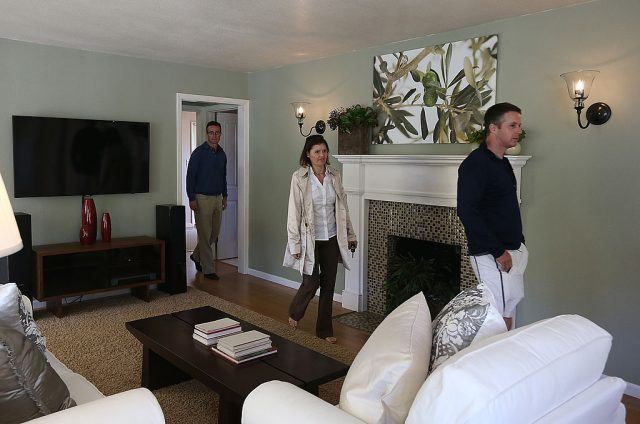 landlord and tenants viewing a home